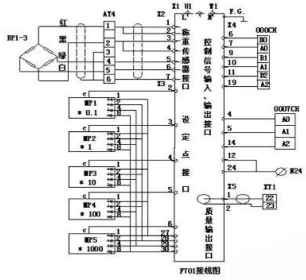 称重传感器六线制接线图