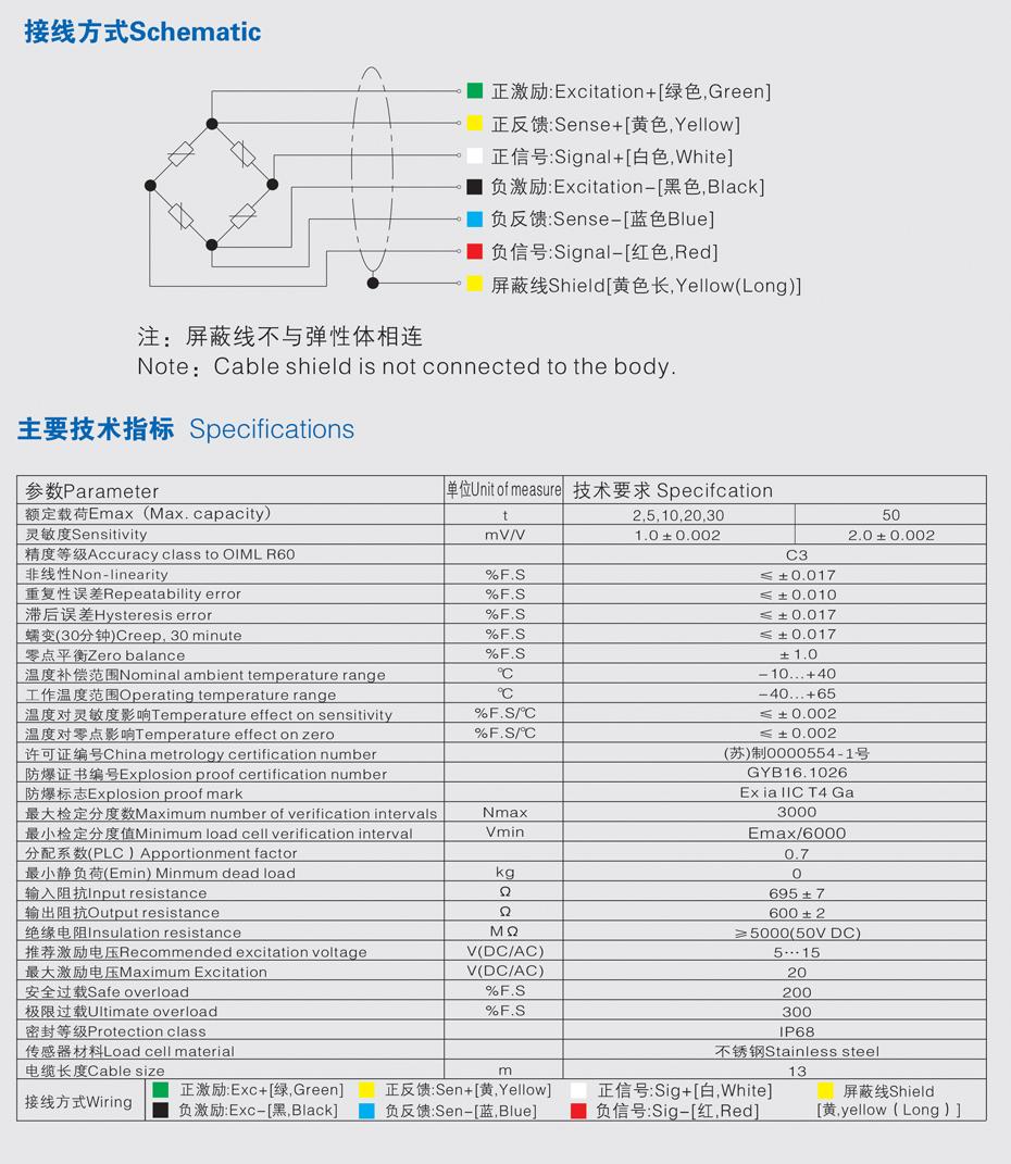 ZSB柱式称重传感器