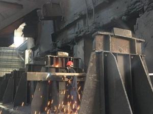 宜兴三维为青海西钢提供高温称重系统