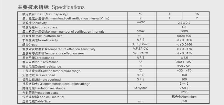 PX10称重传感器