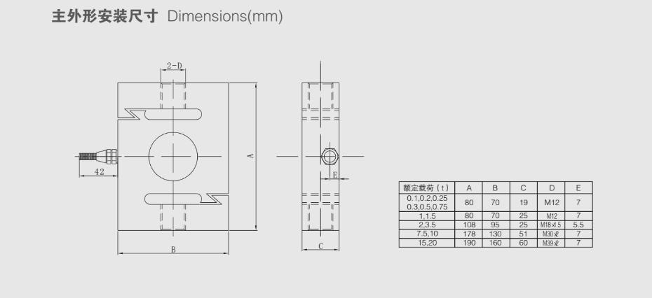 TSE1称重传感器
