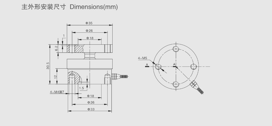 YBH称重传感器