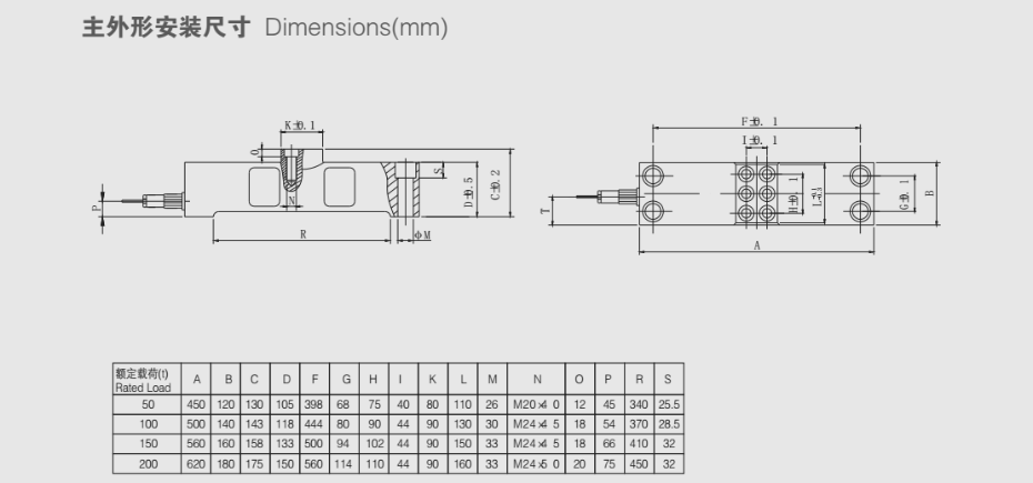 QSE4-H1称重传感器