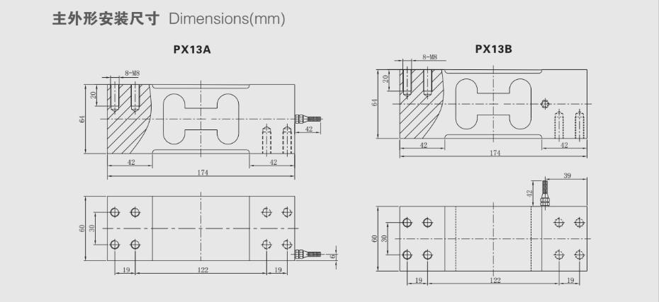 PX13-H1称重传感器