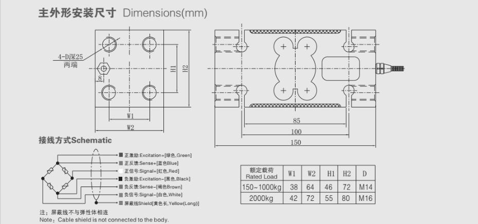 PX14-B称重传感器
