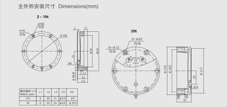YBG称重传感器