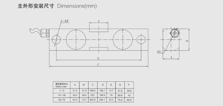 QSF称重传感器